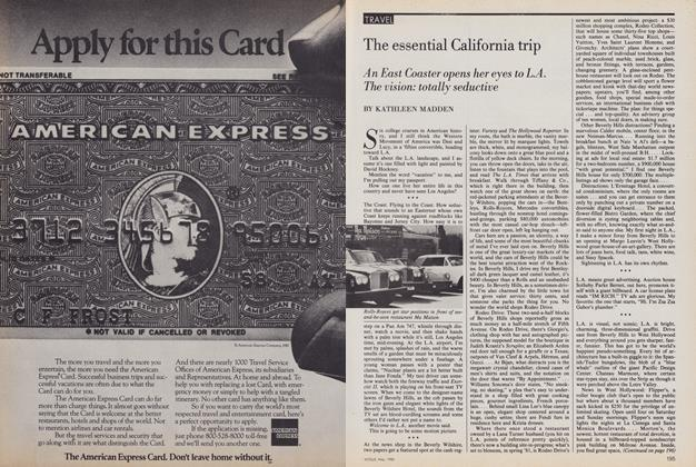 Article Preview: The Essential California Trip, May 1980 | Vogue
