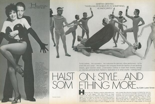 Halston: Style...and Something More