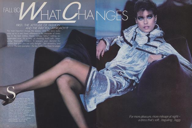 Fall '80: What Changes