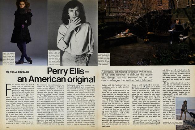 Perry Ellis—an American original