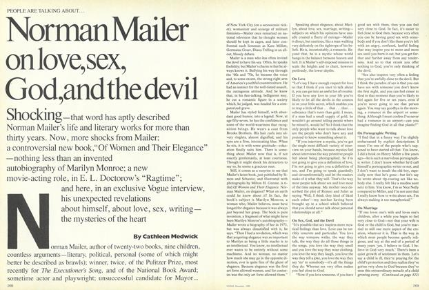 Norman Mailer on Love, Sex, God, and the Devil