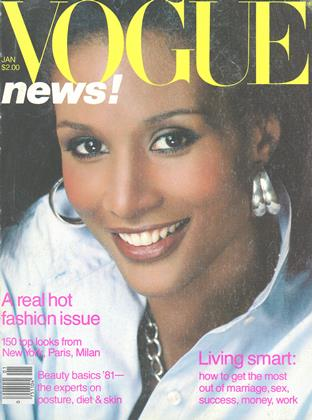 Cover for the January 1981 issue