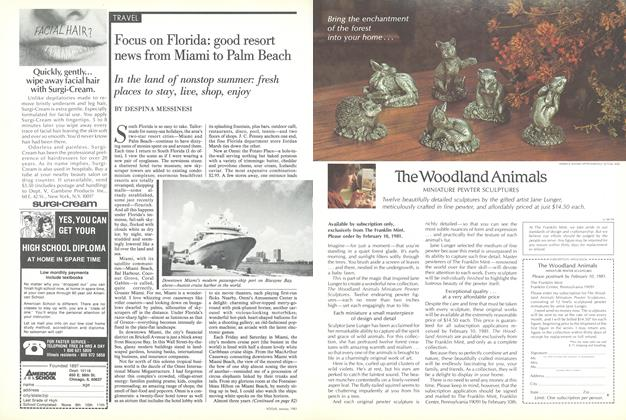 Article Preview: Focus on Florida: Good Resort News from Miami to Palm Beach, January 1981 | Vogue