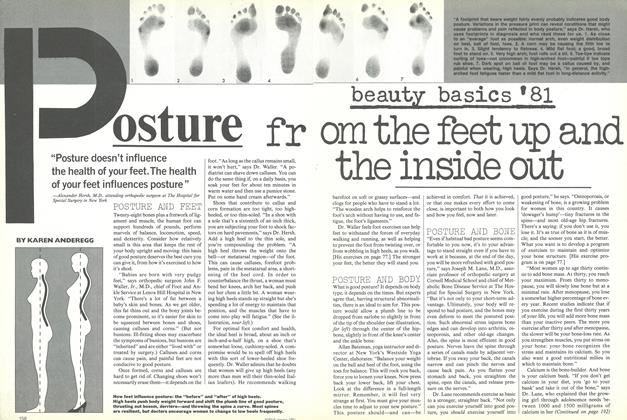 Article Preview: Beauty Basics '81: Posture, January 1981 | Vogue