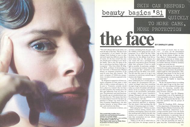 Article Preview: Beauty Basics '81: The Face, January 1981 | Vogue