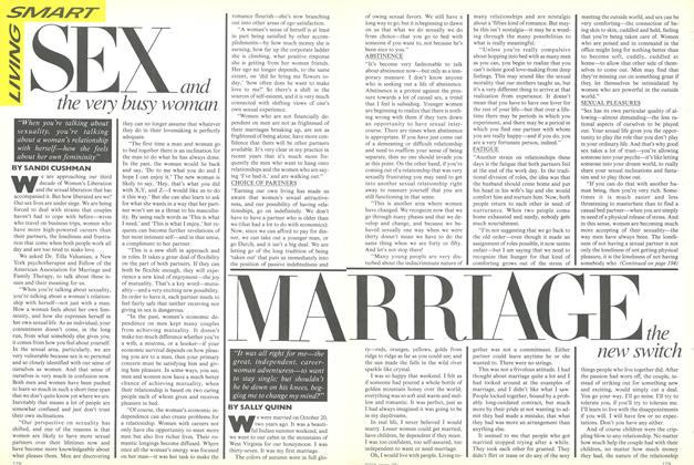 Article Preview: Sex: And the Very Busy Woman, January 1981 | Vogue