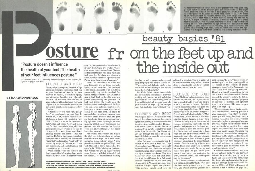 Beauty Basics '81: Posture