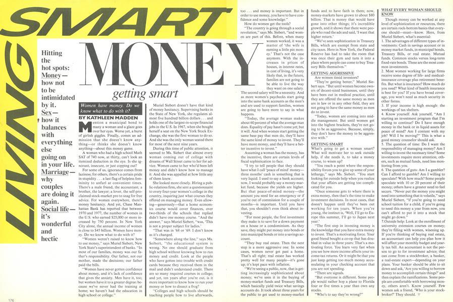 Money: Getting Smart