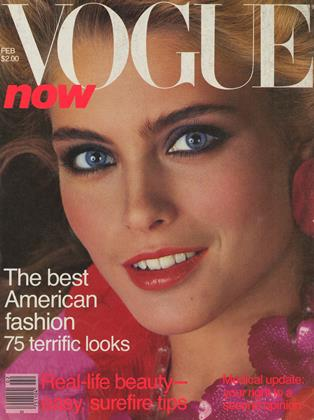 Cover for the February 1981 issue