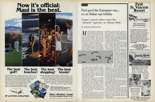 Feel Good the European Way on an Italian Spa Holiday
