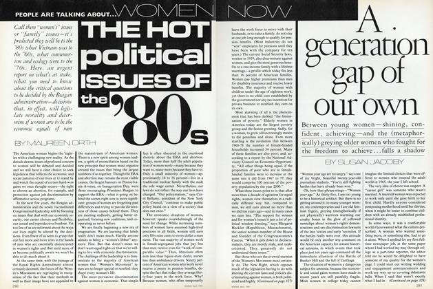 Women Now: The Hot Political Issues of the '80s