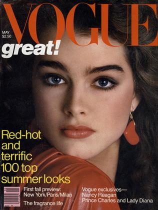 Cover for the May 1981 issue