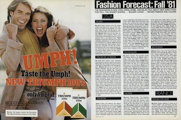 Fashion Forecast: Fall '81