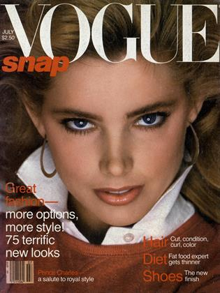 Cover for the July 1981 issue