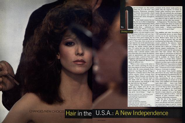 Changes, New Choices: Hair in the U.S.A.