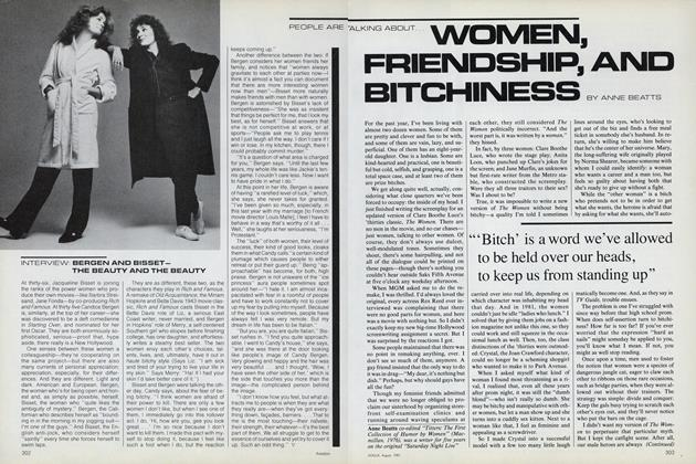 Women, Friendship, and Bitchiness
