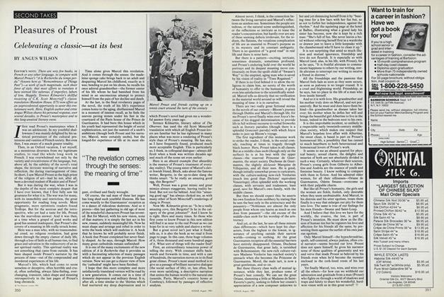 Pleasures of Proust