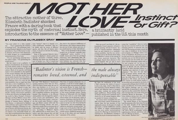 Mother Love: Instinct or Gift?