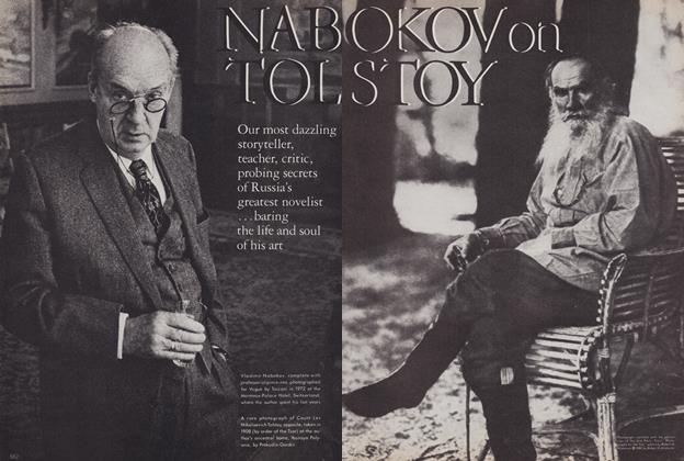 Nabokov on Tolstoy
