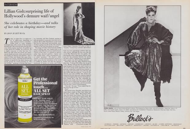 Interview: Lillian Gish