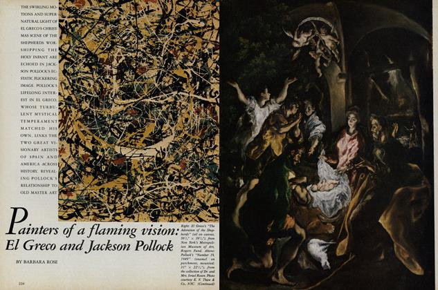 Painters of a Flaming Vision: El Greco and Jackson Pollock