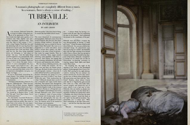 Turbeville's Versailles: Turbeville—an Interview