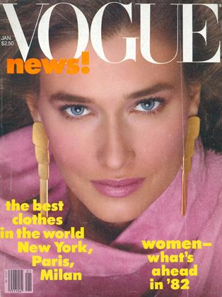 Cover for the January 1982 issue