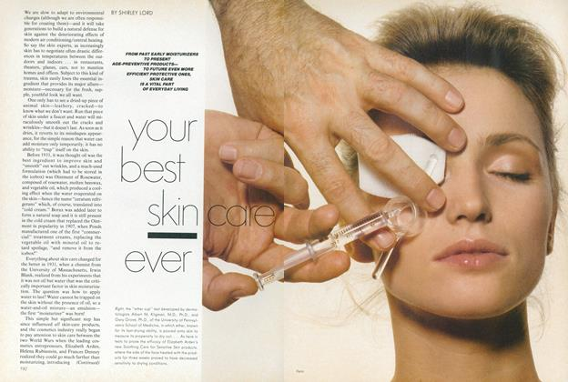 Article Preview: Your Best Skin Care Ever, January 1982 | Vogue