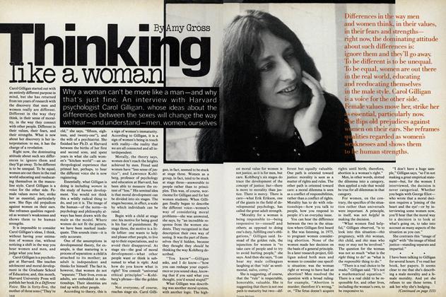 Thinking Like a Woman