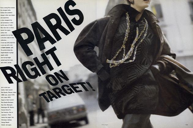 Paris Right on Target!