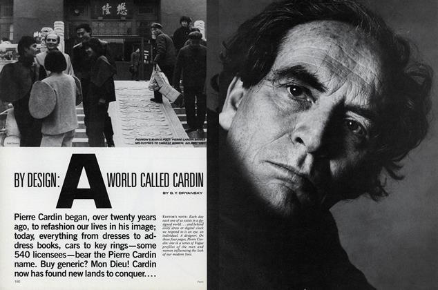 By Design: A World Called Cardin