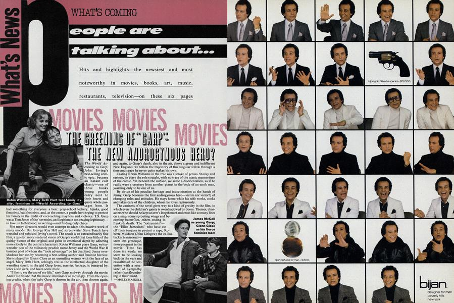 "Movies: The Greening of ""Garp""—the New Androgynous Hero?"
