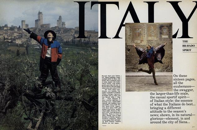 Italy: The Bravado Spirit