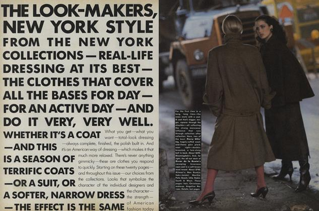 The New York Collections: The Look-makers, New York Style