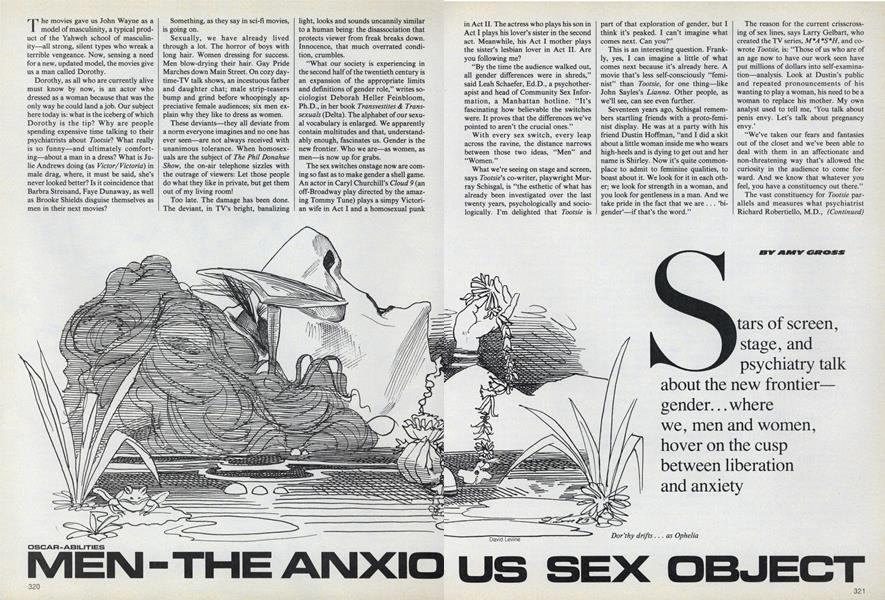 Oscar-abilities: Men—the Anxious Sex Object