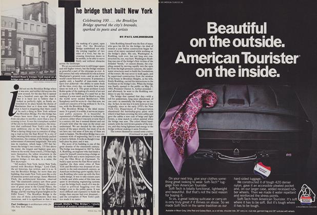 Article Preview: The Bridge That Built New York, May 1983 | Vogue