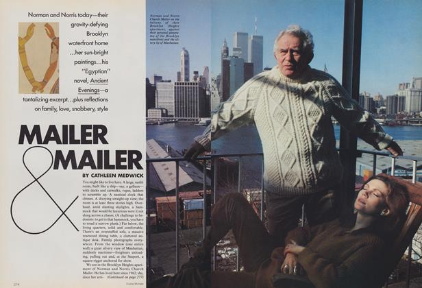 Article Preview: Mailer & Mailer, May 1983 | Vogue