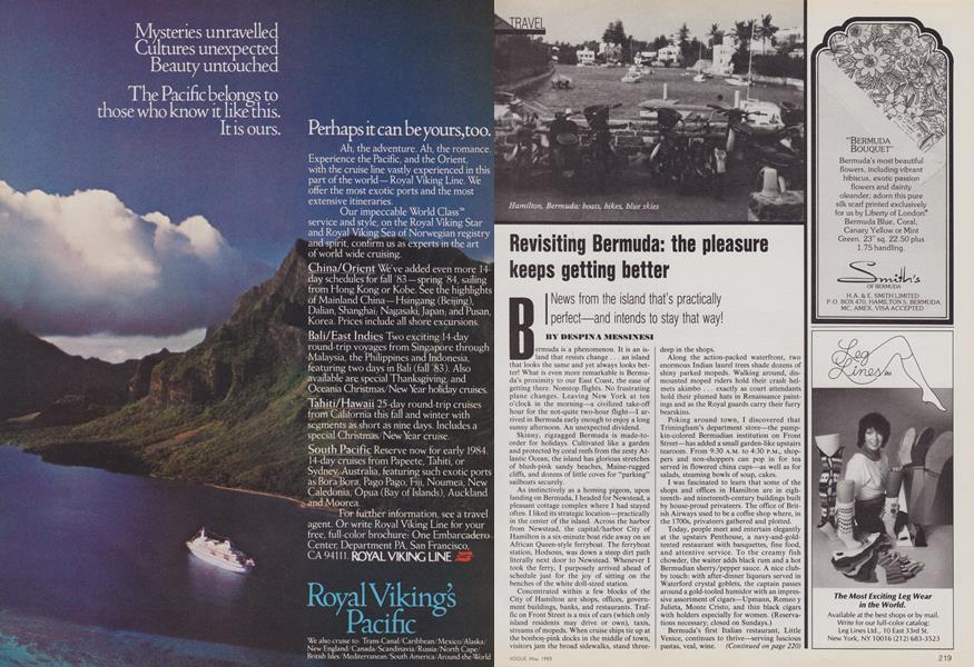 Revisiting Bermuda: The Pleasure Keeps Getting Better