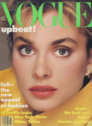 Cover for the July 1983 issue