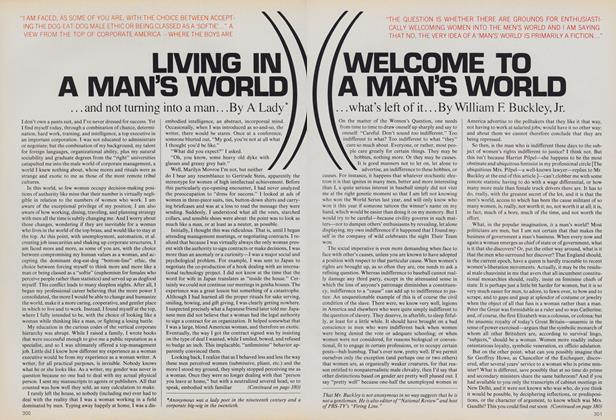 Article Preview: Welcome to a Man's World, August 1983 | Vogue
