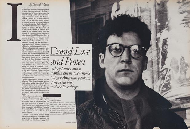 Article Preview: Daniel: Love and Protest, August 1983 | Vogue