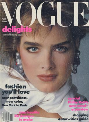 Cover for the October 1983 issue