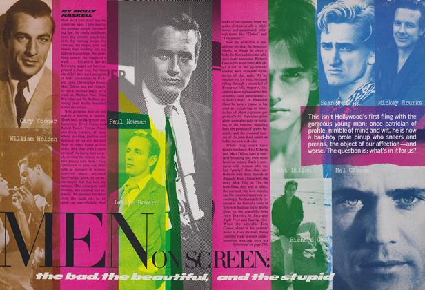 Men on Screen: The Bad, the Beautiful, and the Stupid