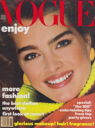 Cover for the November 1983 issue