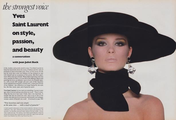 The Strongest Voice: Yves Saint Laurent on Style, Passion, and Beauty