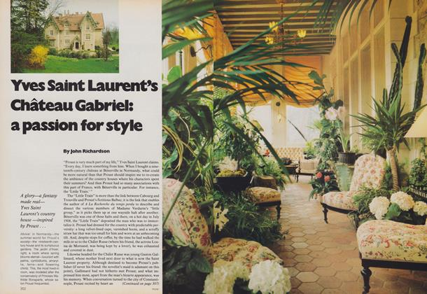 Yves Saint Laurent's Chateau Gabriel: A Passion for Style