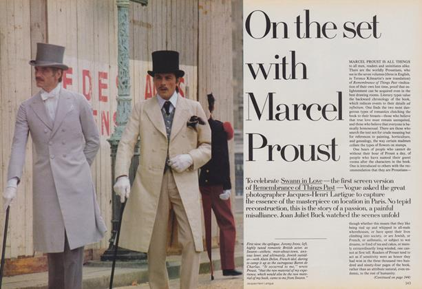 On the Set with Marcel Proust