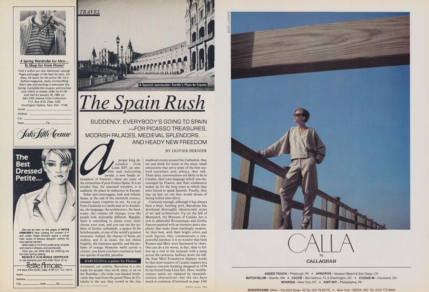 The Spain Rush