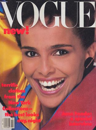 Cover for the February 1984 issue