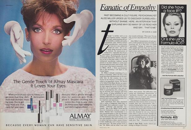 Article Preview: Fanatic of Empathy, February 1984 | Vogue